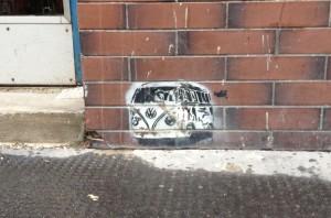 VW Bully - Ecke Westbahnstraße 7