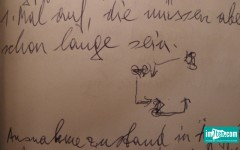 Tagebuch Zeichnung Franz Blaas