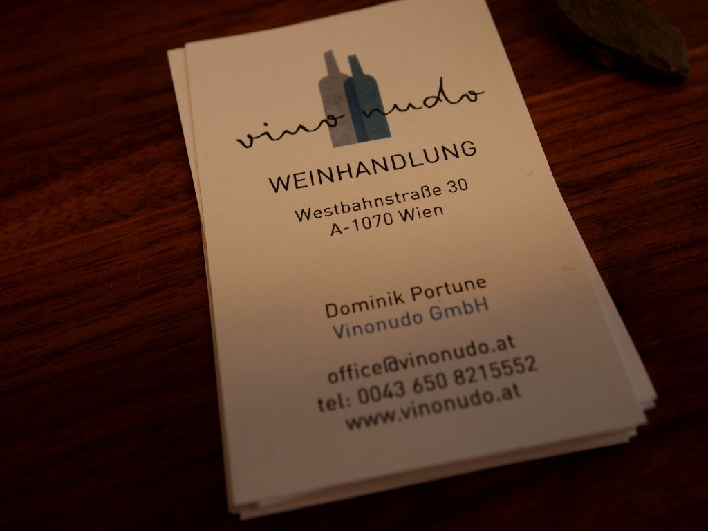Vinonudo Visitenkarten
