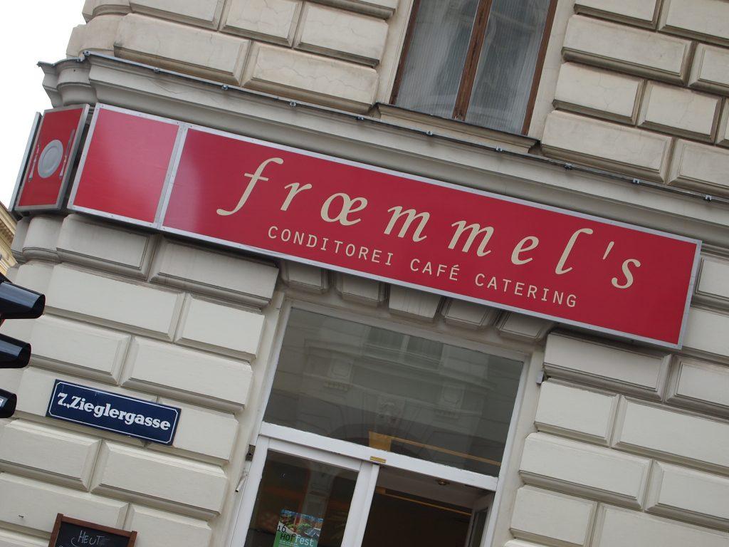 Traditionelle Kaffeehäuser im 7. Bezirk gesucht?: Naschkatzen tigern zu froemmel's in der Zieglergasse Ecke Burggasse