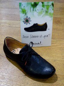 Der Schnürschuh Chilli von Think! ist der erste Schuh mit dem österreichischen Umweltzeichen