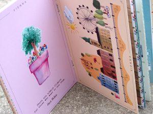 Im 7er Plan sind Postkarten zum Herausnehmen und Verschicken.
