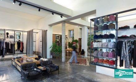 Das Wiener Modelabel modus vivendi hat einen eigenen Concept Store in der Westbahnstraße 5a im ehemaligen Walls eröffnet