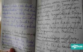 Das Künstlertagebuch von Franz Blaas.