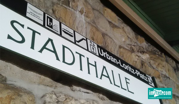 U-Bahnstation Stadthalle