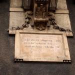 Türkischer Reiter Inschrift