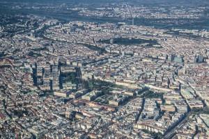 Stadtansicht altes Wien