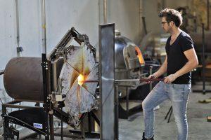 Robert Comploj bei der Arbeit (Foto: Cathrine Stukhard)