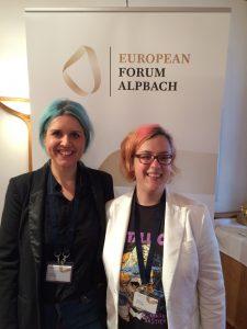 European Forum Alpbach Christina Riedler und Martina Gollner