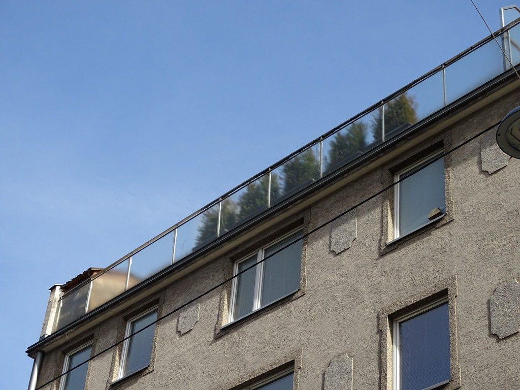 Dachterrasse im 7. Bezirk, Bandgasse 10