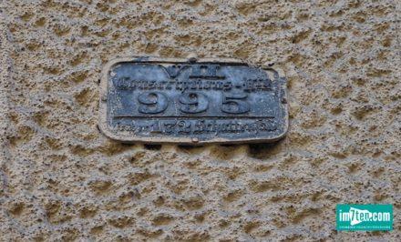 alte Konskriptionsnummer