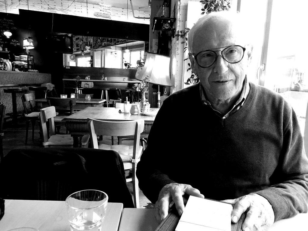Ehrenamtlich für die Vienna Greeters unterwegs: Herbert Tamchina