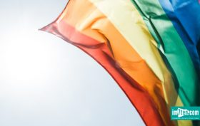 Regenbogenfahne Europride