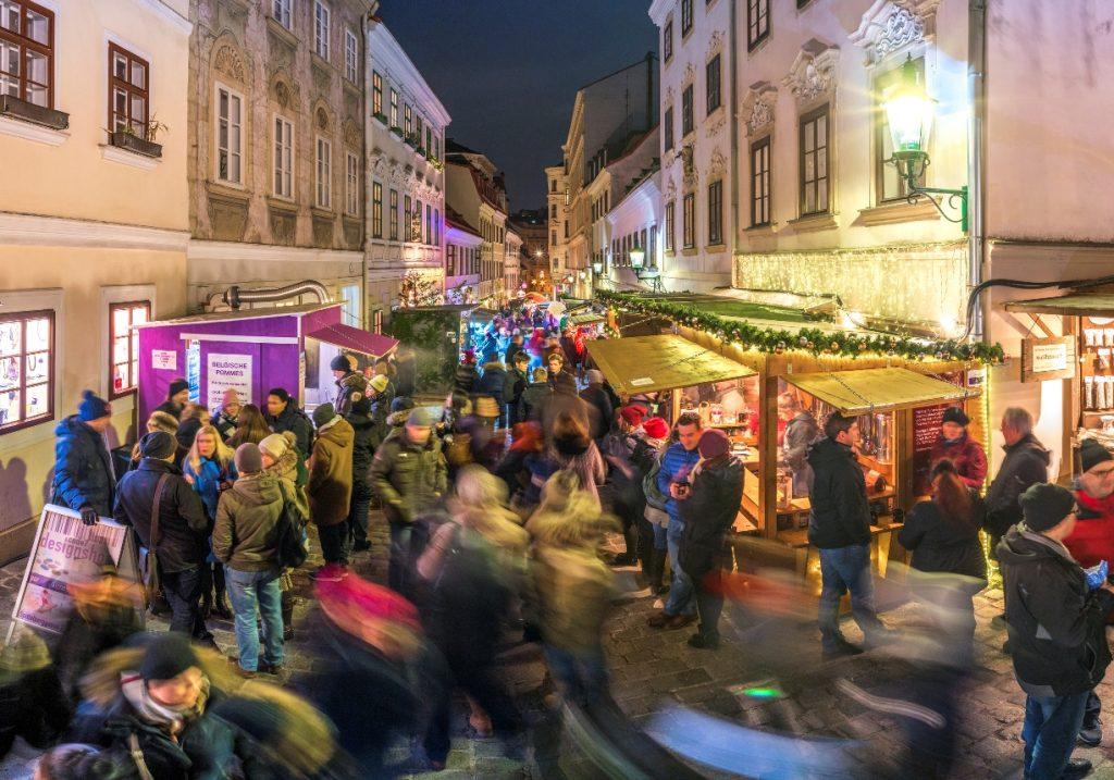 Advent in Wien Neubau: So schön ist der Christkindlmarkt am Spittelberg