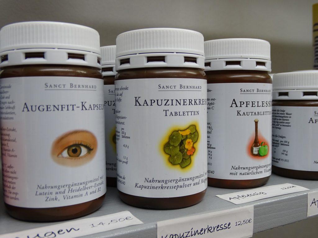 Die NaturoTheke bietet Nahrungsergänzungsmittel auf natürlicher Basis an