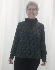 Sweater-Gewinnerin