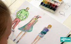 Modezeichnen im Studio Linea