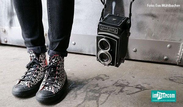 Analog Fotografieren am Neubau in Wien