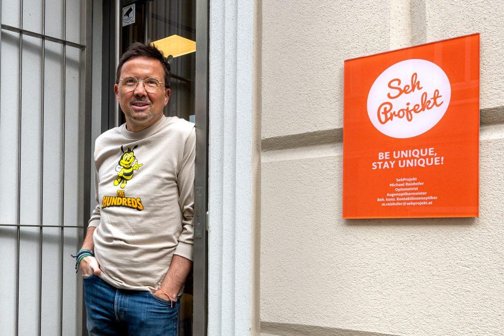 Unternehmer Michael Reishofer aus der Westbahnstraße erzählt über die Corona-Zeit