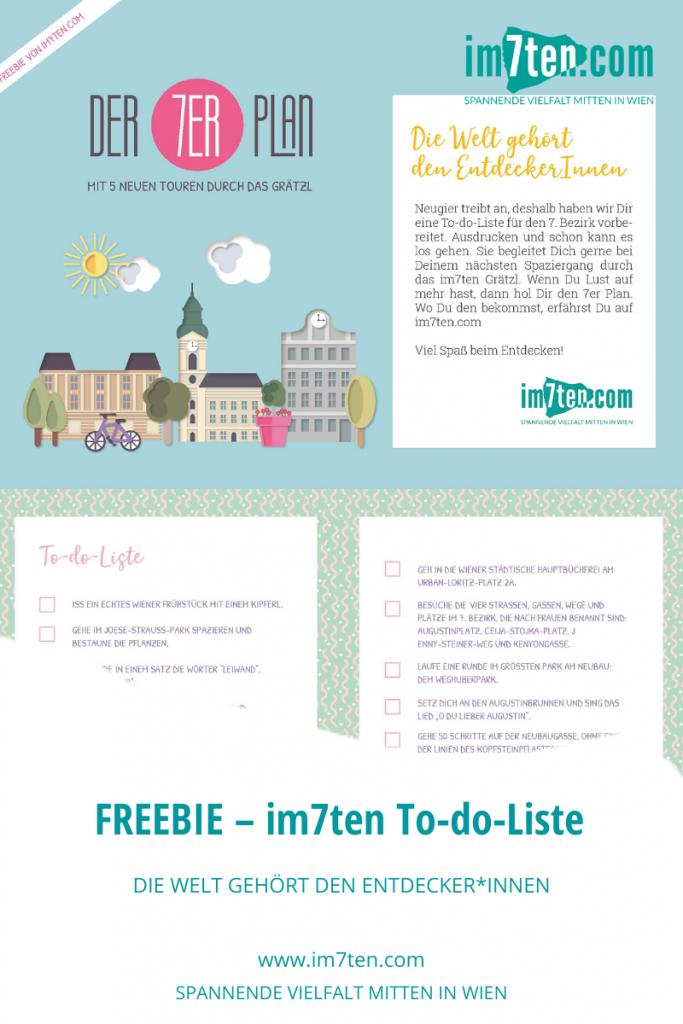 Free Printable: Was Du beim Urlaub in Wien auf keinen Fall verpassen darfst, verrät Dir die To-do-Liste von im7ten.com